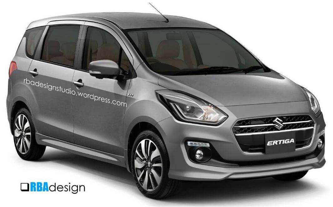 Next-gen Suzuki Ertiga rendered with new Swift styling ...