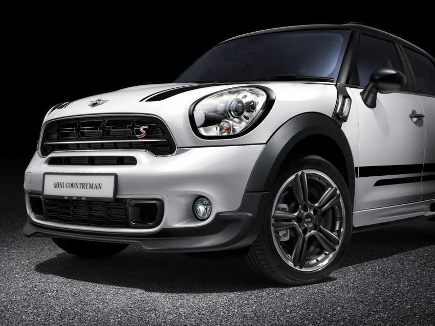 MINI Countryman JCW Design Edition launched in Malaysia for RM243k – aero kit, LED door projectors Image #603873