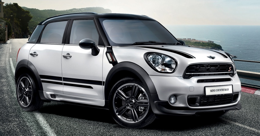 MINI Countryman JCW Design Edition launched in Malaysia for RM243k – aero kit, LED door projectors Image #603862