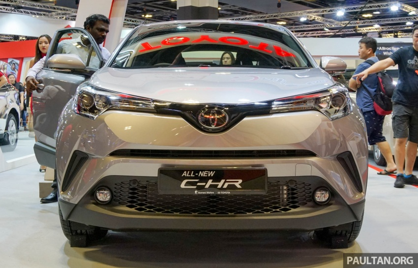 GALLERY: Toyota C-HR at the Singapore Motor Show Image #603229