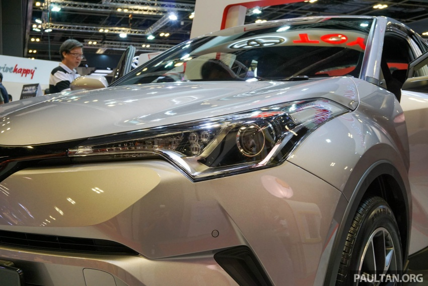 GALLERY: Toyota C-HR at the Singapore Motor Show Image #603231