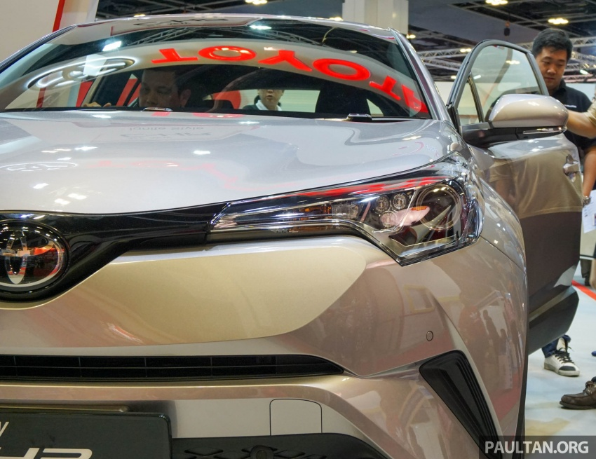 GALLERY: Toyota C-HR at the Singapore Motor Show Image #603232