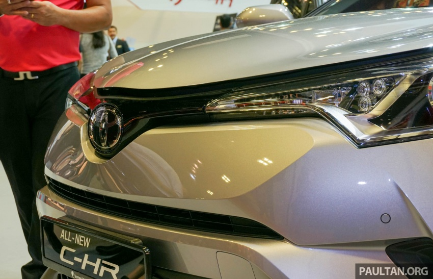 GALLERY: Toyota C-HR at the Singapore Motor Show Image #603234
