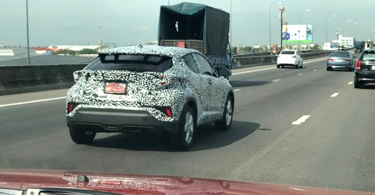 Toyota C-HR spotted in Thailand – early 2018 launch? Image #606432