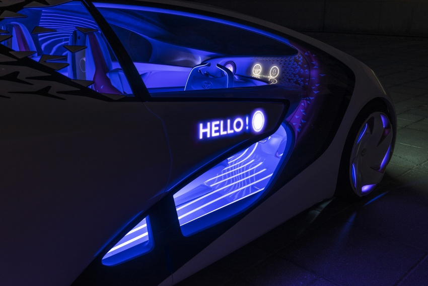 Toyota Concept-i debuts at CES 2017 – friendlier future Image #598798