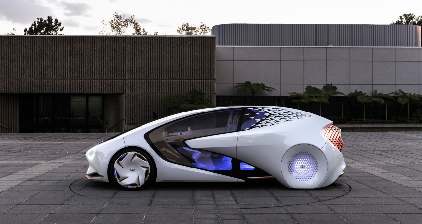 Toyota Concept-i debuts at CES 2017 – friendlier future Image #598799