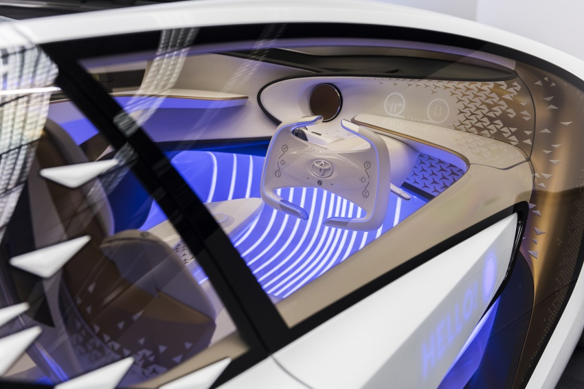 Toyota Concept-i debuts at CES 2017 – friendlier future Image #598807