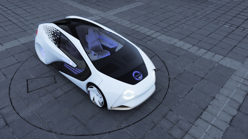 Toyota Concept-i debuts at CES 2017 – friendlier future Image #598817