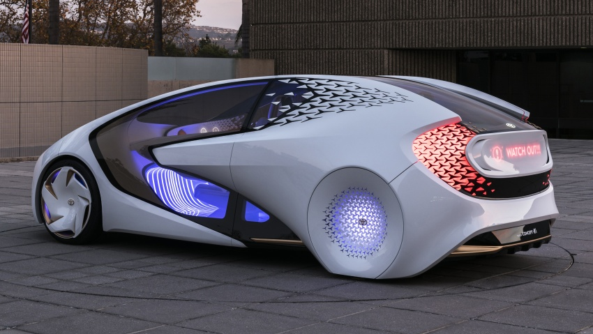 Toyota Concept-i debuts at CES 2017 – friendlier future Image #598837