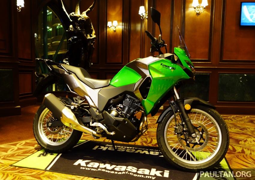 Kawasaki Malaysia perkenal empat model untuk 2017 – Z900 ABS, Z650 ABS, Ninja 650 ABS dan Versys-X 250 Image #607641
