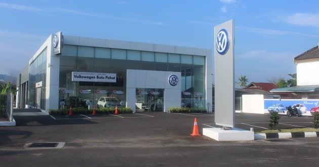 Volkswagen Buka Pusat 3S Baharu Di Batu Pahat