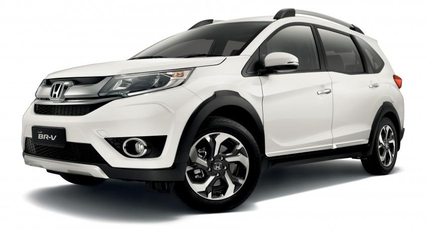 Honda BR-V 1.5L dilancarkan di Malaysia – crossover 7-tempat duduk, 2 varian, harga bermula RM85,800 Image #598568