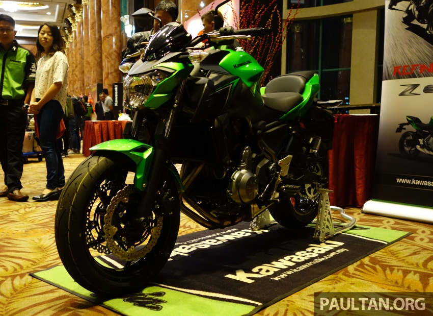 Kawasaki Malaysia perkenal empat model untuk 2017 – Z900 ABS, Z650 ABS, Ninja 650 ABS dan Versys-X 250 Image #607644