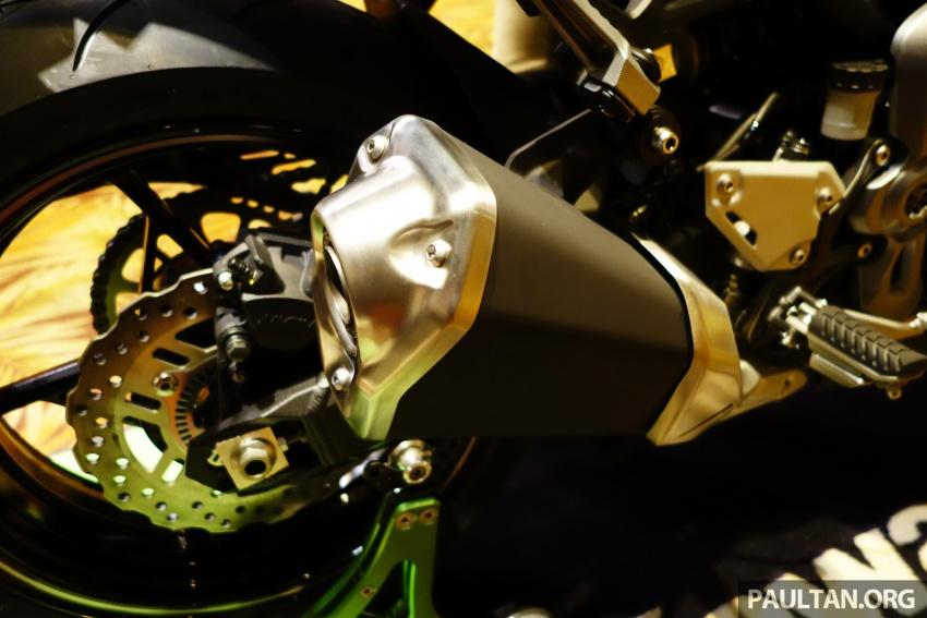Kawasaki Malaysia perkenal empat model untuk 2017 – Z900 ABS, Z650 ABS, Ninja 650 ABS dan Versys-X 250 Image #607650