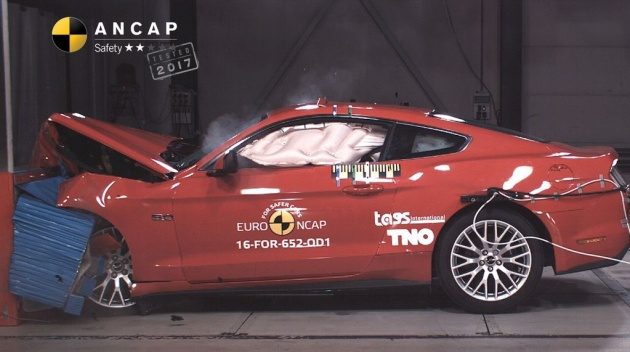 Ford Mustang gets a two-star Euro NCAP safety rating on ford gt, ford cobra, ford super duty, ford tonka, ford e-series, ford taurus, ford racing, ford thunderbird, ford powerstroke, ford concept, ford 15 passenger van, ford falcon, ford mustang2015, ford raptor, ford crown victoria police interceptor, ford model t, ford pickup, ford cars, ford f-series,