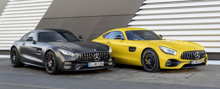 Mercedes-AMG GT C Coupe debuts in Detroit – AMG GT and GT S get styling and tech updates for 2017 Image #601103