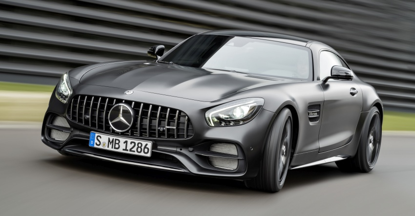 Mercedes-AMG GT C Coupe debuts in Detroit – AMG GT and GT S get styling and tech updates for 2017 Image #601087