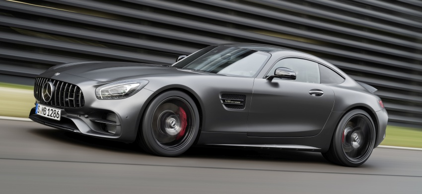 Mercedes-AMG GT C Coupe debuts in Detroit – AMG GT and GT S get styling and tech updates for 2017 Image #601088