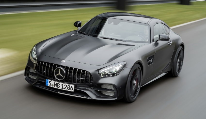 Mercedes-AMG GT C Coupe debuts in Detroit – AMG GT and GT S get styling and tech updates for 2017 Image #601089