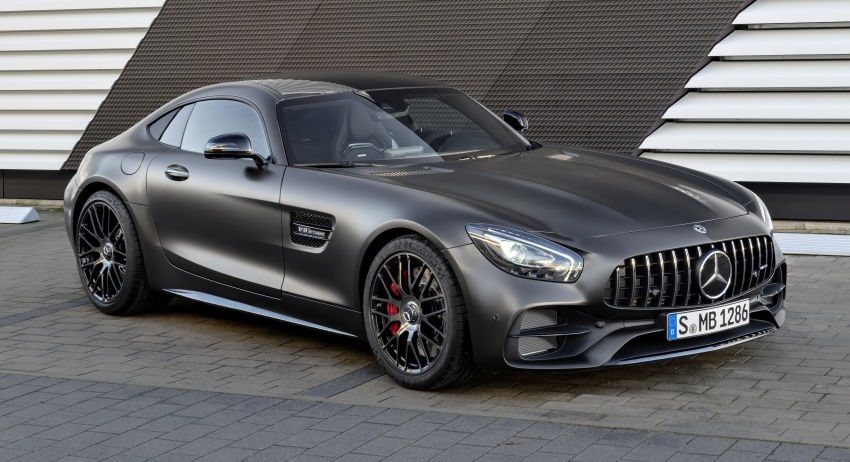 Mercedes-AMG GT C Coupe debuts in Detroit – AMG GT and GT S get styling and tech updates for 2017 Image #601091