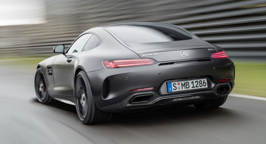 Mercedes-AMG GT C Coupe debuts in Detroit – AMG GT and GT S get styling and tech updates for 2017 Image #601092