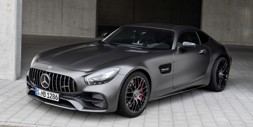 Mercedes-AMG GT C Coupe debuts in Detroit – AMG GT and GT S get styling and tech updates for 2017 Image #601094