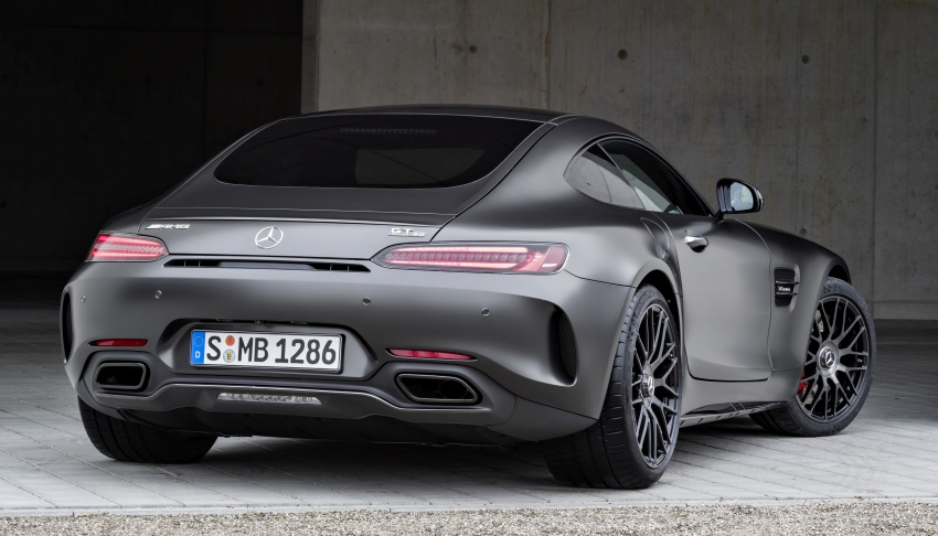Mercedes-AMG GT C Coupe debuts in Detroit – AMG GT and GT S get styling and tech updates for 2017 Image #601095
