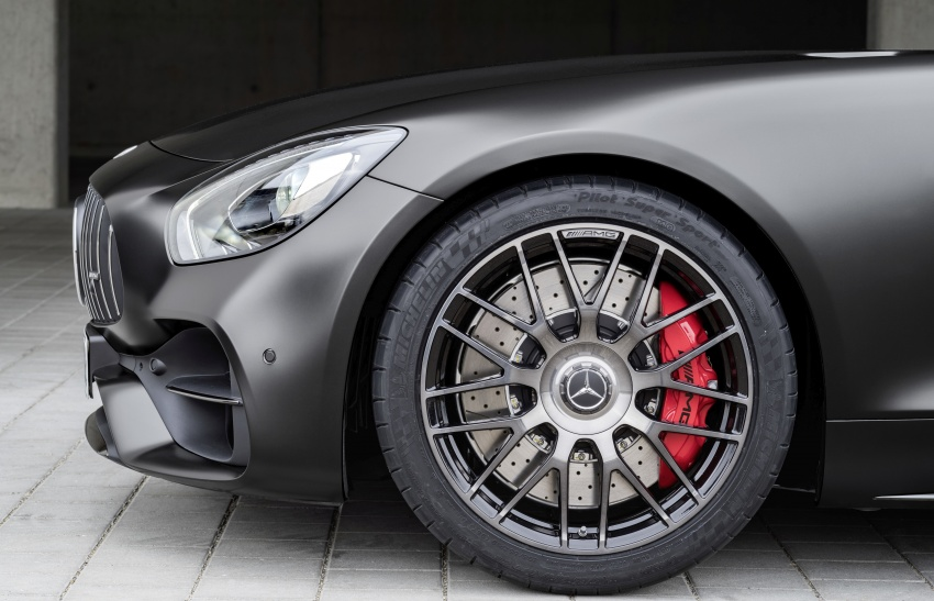 Mercedes-AMG GT C Coupe debuts in Detroit – AMG GT and GT S get styling and tech updates for 2017 Image #601097