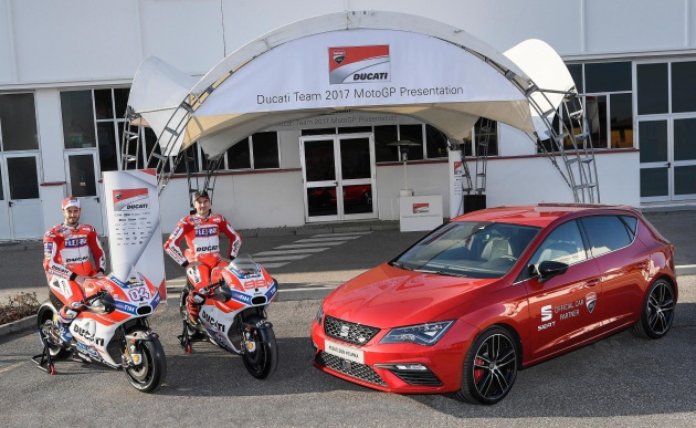 Seat Leon Cupra 300 Is The Official Ducati Motogp Car