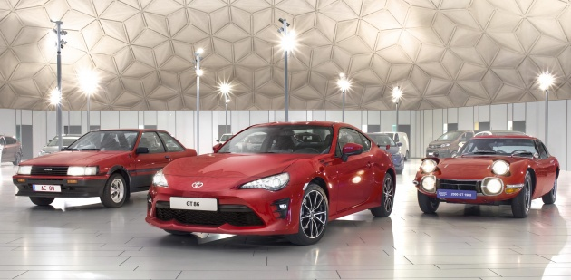 Toyota 86 Meets Its Ancestors From Five Decade Lineage 2000gt