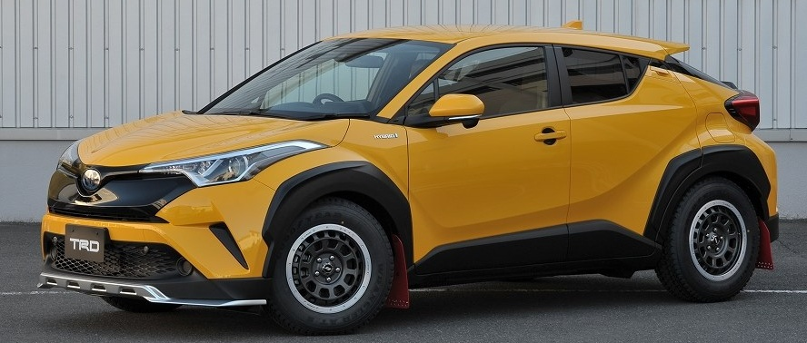 Toyota C Hr 86 Hilux And Hiace Get Trd Concepts Image 603408
