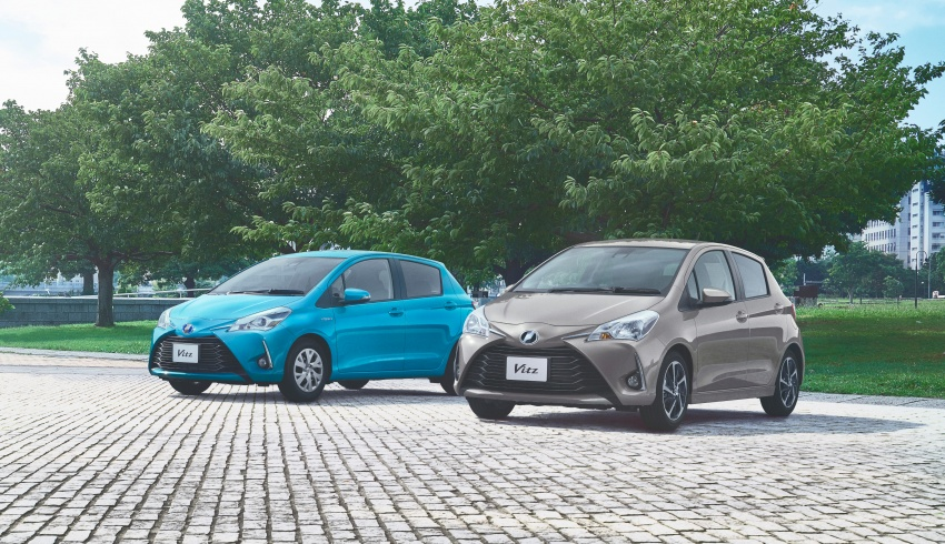 Toyota Yaris facelifted again – new Hybrid for Japan Image #603049