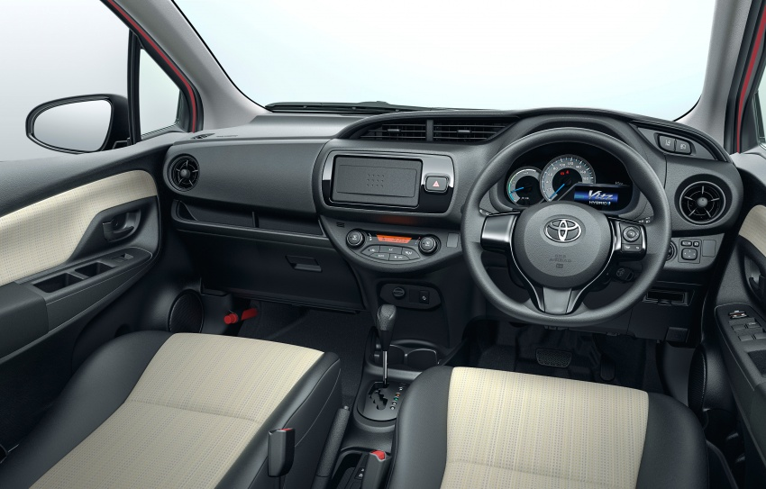 Toyota Yaris facelifted again – new Hybrid for Japan Image #603058