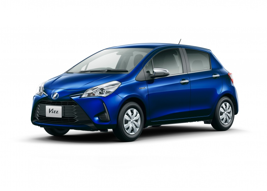 Toyota Yaris facelifted again – new Hybrid for Japan Image #603060