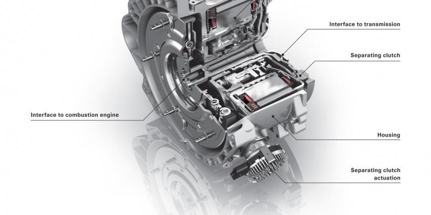 Transmisi Klac Berkembar (DCT) lapan-kelajuan baharu rekaan Porsche dan ZF didedahkan Image #621609