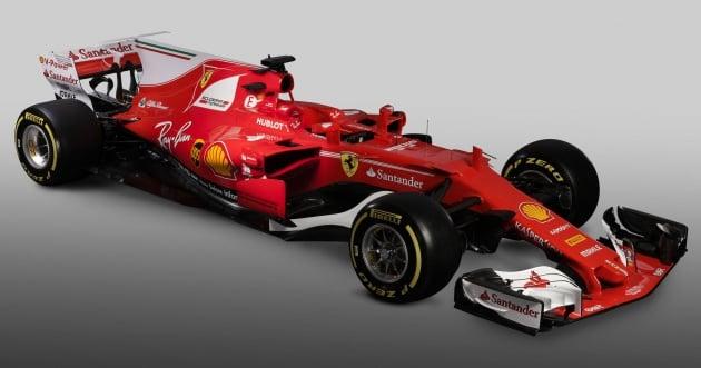 Ferrari Sf70h Scuderia S 2017 Formula 1 Car Debuts