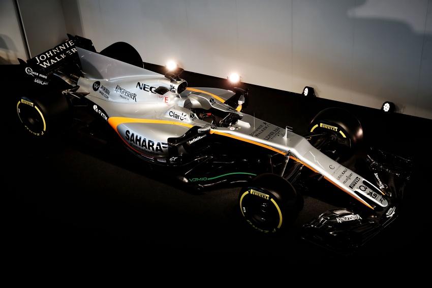 Force India unveils its 2017 Formula 1 car – the VJM10 Image #619904