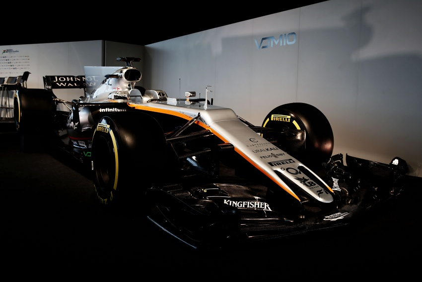 Force India unveils its 2017 Formula 1 car – the VJM10 Image #619905