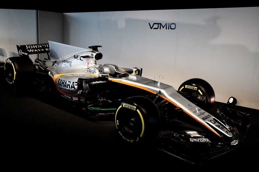 Force India unveils its 2017 Formula 1 car – the VJM10 Image #619908