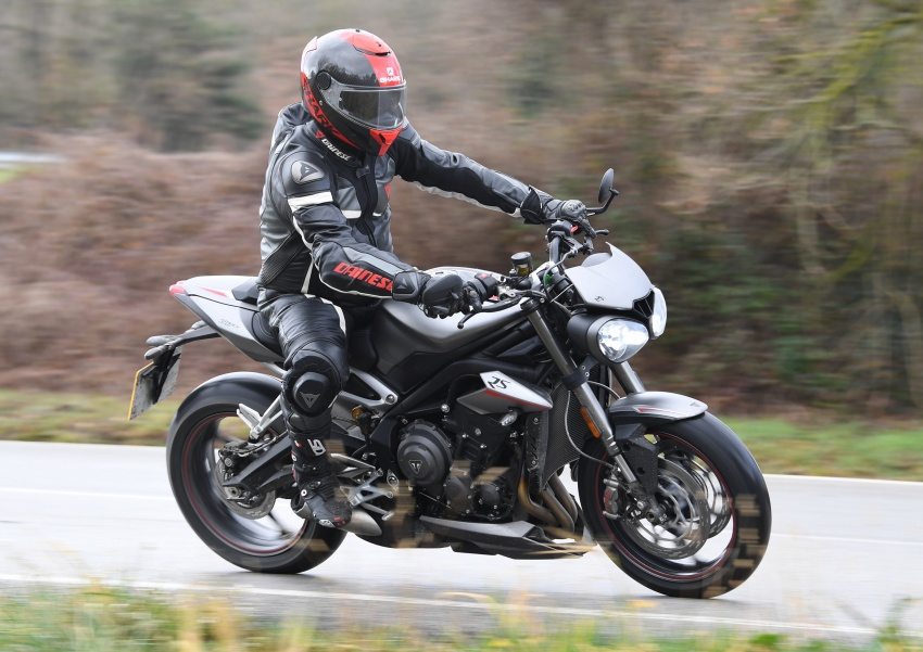 REVIEW: 2017 Triumph Street Triple 765 RS – media road and track test in Catalunya, Spain Image #616533