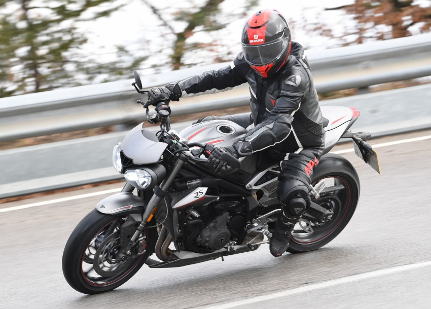 REVIEW: 2017 Triumph Street Triple 765 RS – media road and track test in Catalunya, Spain Image #616542