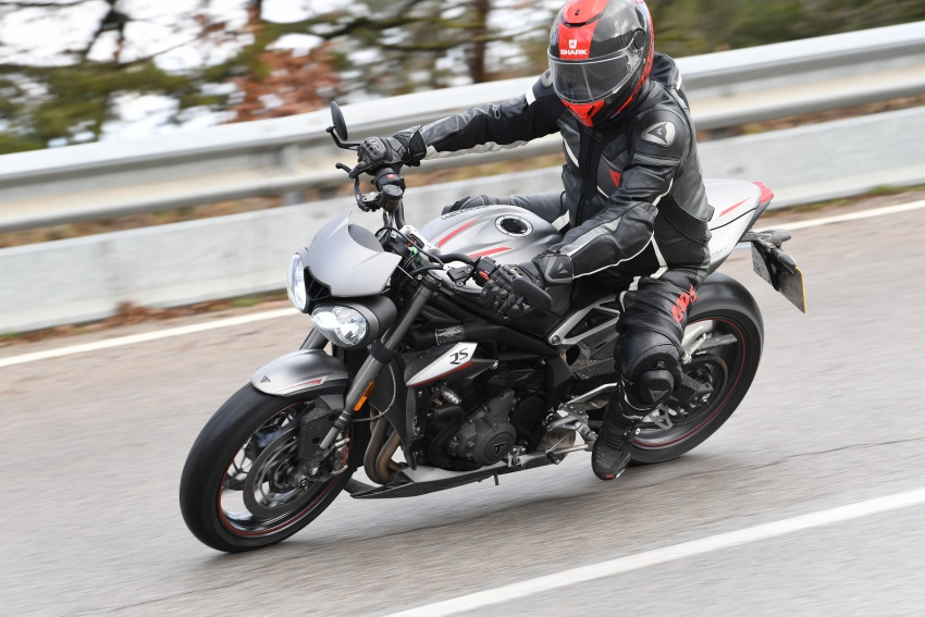 REVIEW: 2017 Triumph Street Triple 765 RS – media road and track test in Catalunya, Spain Image #616543