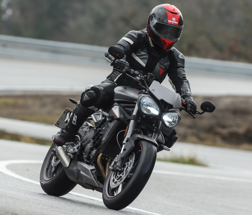 REVIEW: 2017 Triumph Street Triple 765 RS – media road and track test in Catalunya, Spain Image #616546