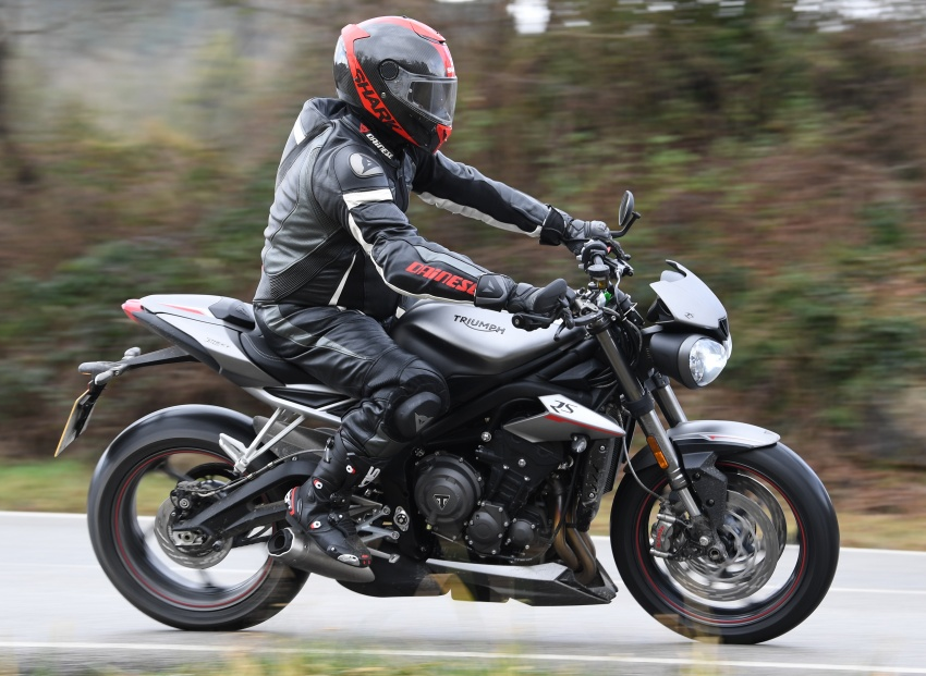 REVIEW: 2017 Triumph Street Triple 765 RS – media road and track test in Catalunya, Spain Image #616534