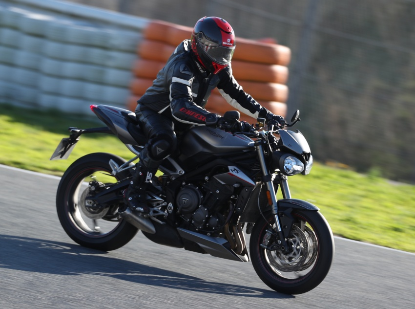 REVIEW: 2017 Triumph Street Triple 765 RS – media road and track test in Catalunya, Spain Image #616558