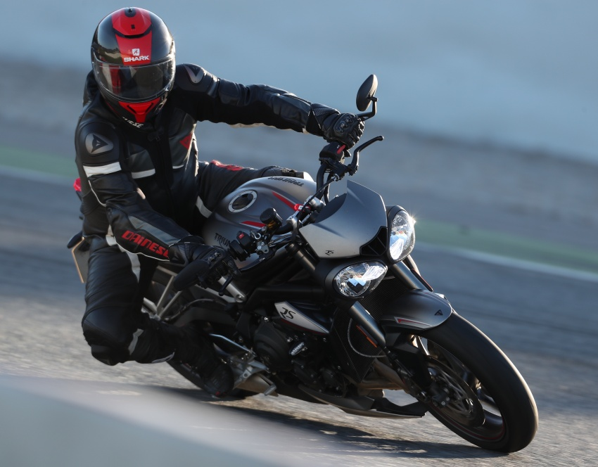 REVIEW: 2017 Triumph Street Triple 765 RS – media road and track test in Catalunya, Spain Image #616561
