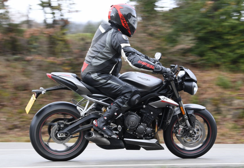 REVIEW: 2017 Triumph Street Triple 765 RS – media road and track test in Catalunya, Spain Image #616535