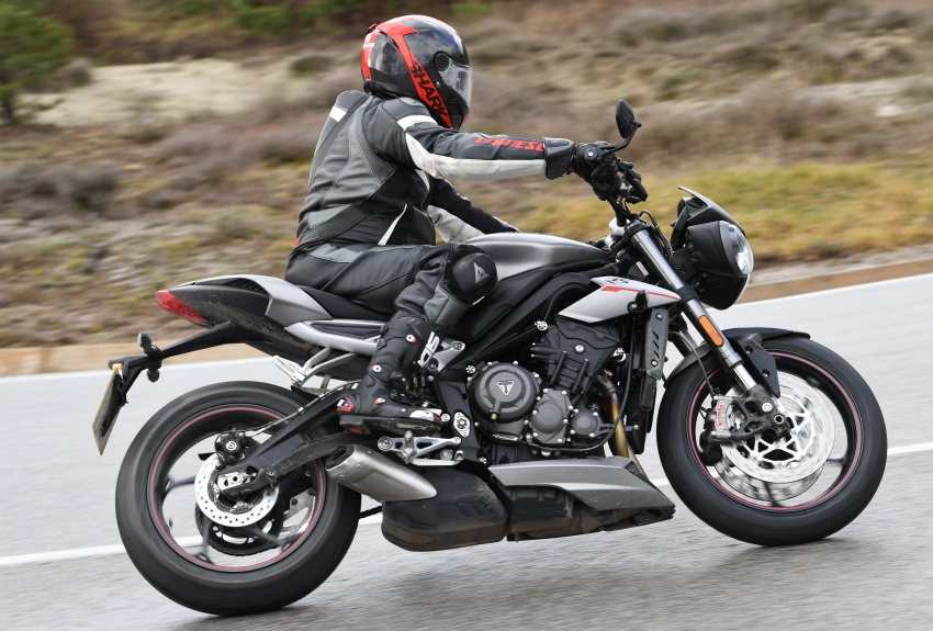 REVIEW: 2017 Triumph Street Triple 765 RS – media road and track test in Catalunya, Spain Image #616539