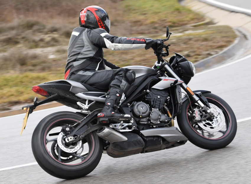 REVIEW: 2017 Triumph Street Triple 765 RS – media road and track test in Catalunya, Spain Image #616540