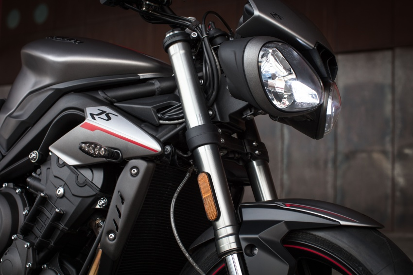 REVIEW: 2017 Triumph Street Triple 765 RS – media road and track test in Catalunya, Spain Image #616603